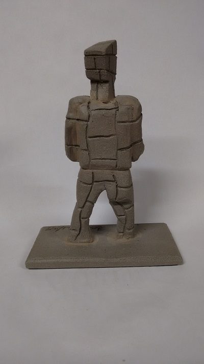 Standing Figure II back view web